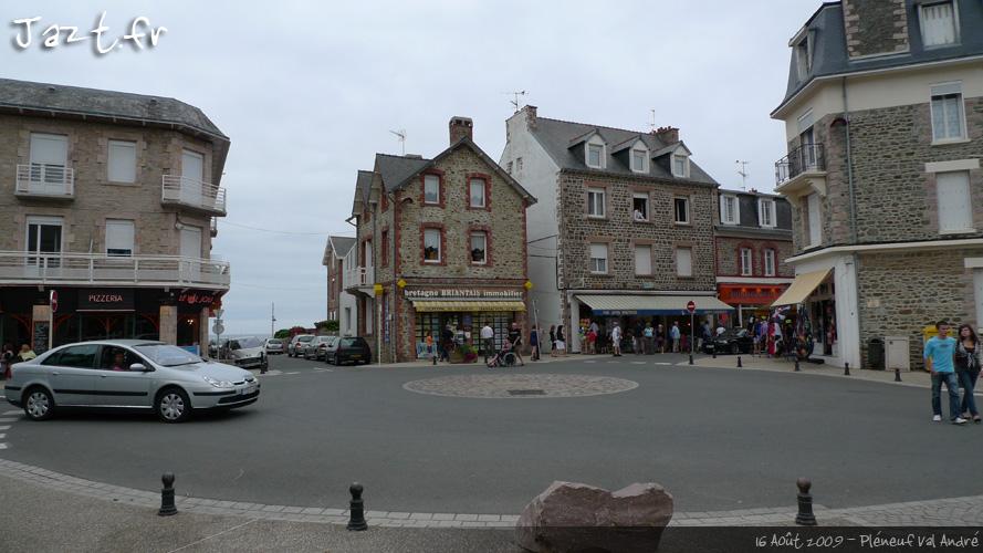 Centre ville du Val André