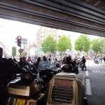 Petit arrêt sous le Pont de Nantes