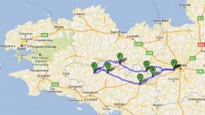 Roadbook Bretagne