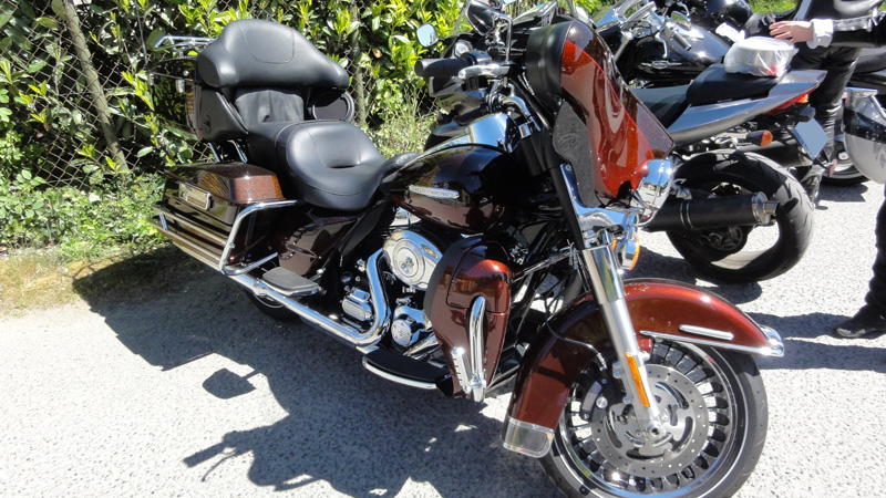 Harley Davidson : moto de classe américaine