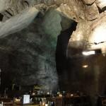 les plafonds du restaurant de la saulaie