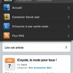 toutes les options version mobile Jazt.com