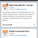 Version mobile du site Jazt.com