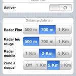 Paramétrage d'iCoyote sur les alertes