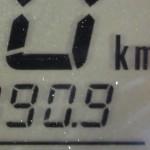 190km avant de faire le plein, ça clignotte !