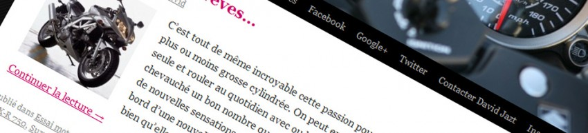 Blog moto Bretagne de David Jazt