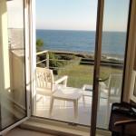 vue mer depuis la chambre d'hôtes villa océan