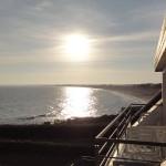 vue mer vers la plage