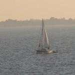 en mer à Sainte-Marine