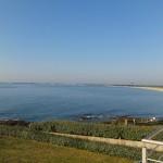 vue mer du matin à la Villa Océan
