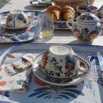 petit déjeuner à la Villa Océan de Sainte-Marine