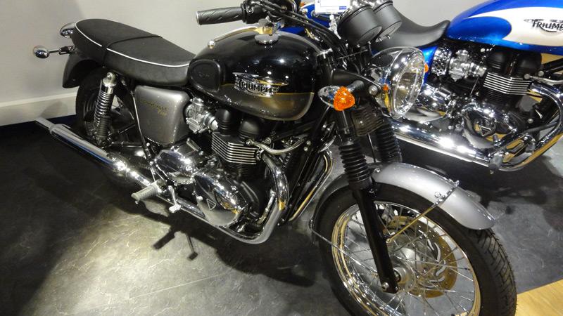 Triumph bonneville, un classic !