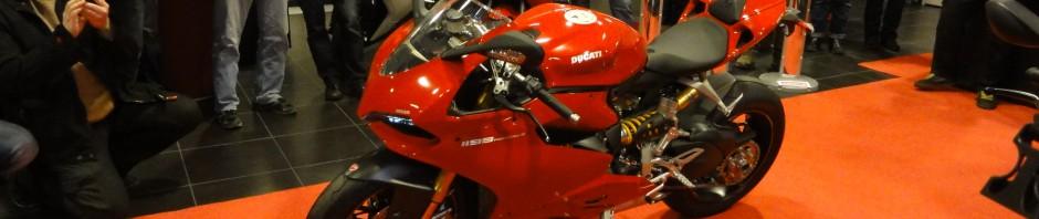 Essai moto du Ducati 1199 à Rennes, concession ducati rennes