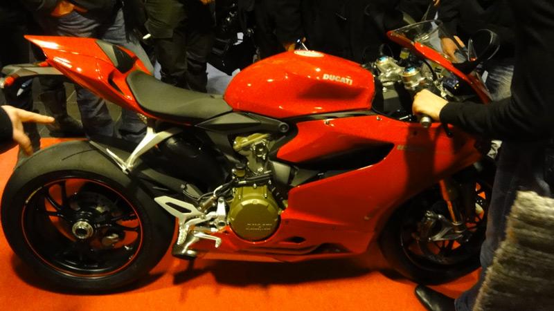 Ducati Pinagale 1199 S : une beauté Italienne