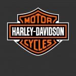 David Jazt en Harley Davidson