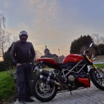 David Jazt et sa Ducati Streetfighter 1098 S