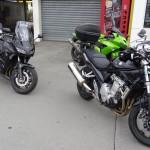 motards rennais au départ de la sortie moto de Rennes