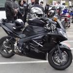 moto Triumph Sprint ST de Jean-Pierre et Martine
