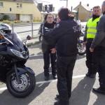 Départ moto de Melesse, Bretagne