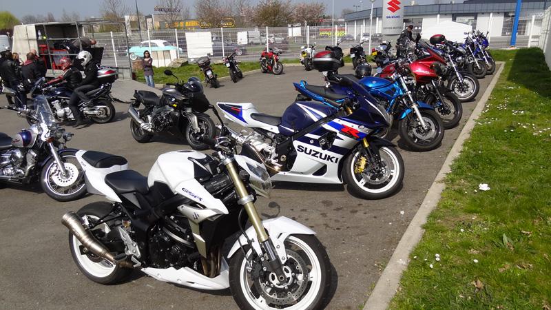 Portes ouvertes chez Suzuki Rennes moto