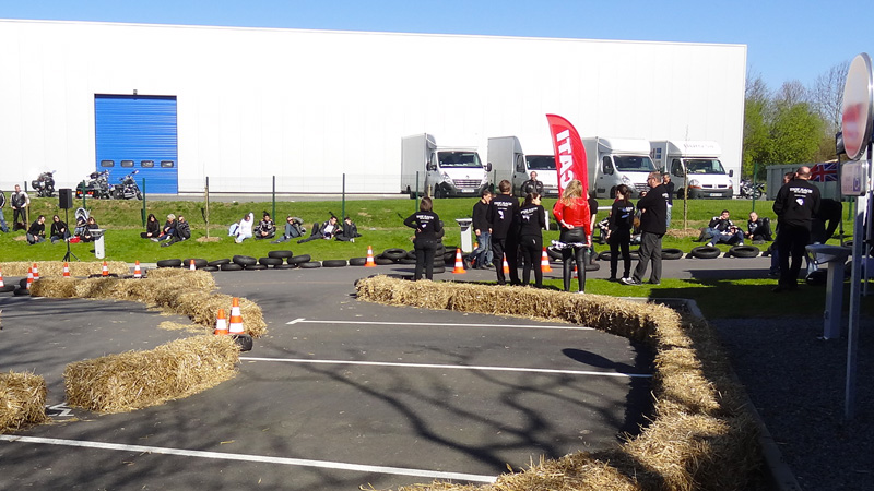 The Race, 1er avril à Rennes