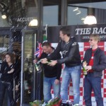 Les 3 gagnants de The Race Rennes Ducati Triumph