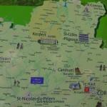 Corlay, au nord de la Bretagne