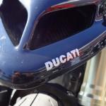Tête de fourche du 1100 Hypermot Ducati