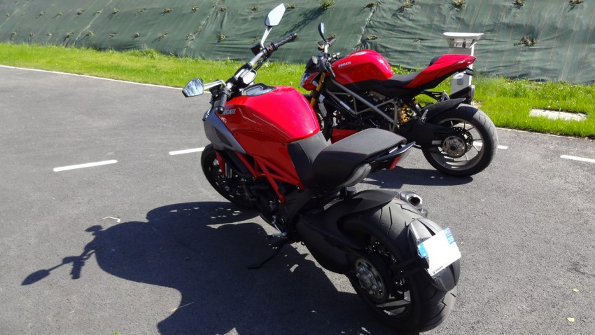 Ducati Rennes : Diavel et Streetfigter