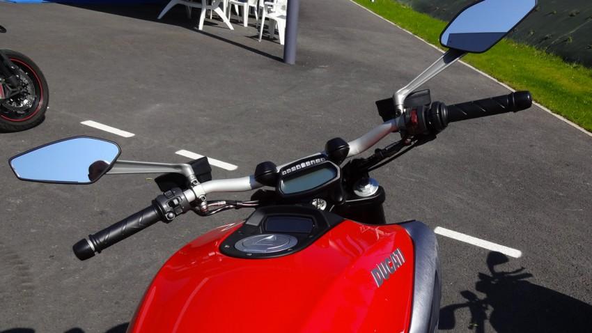 Guidon du Diavel Ducati