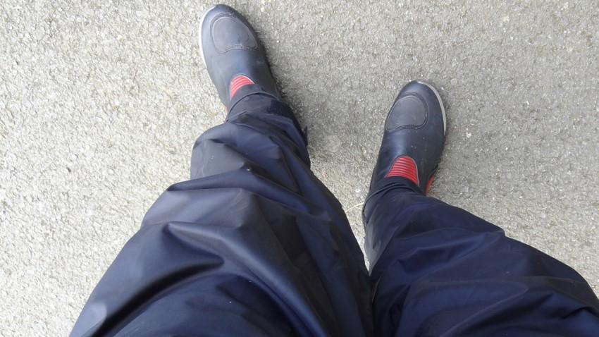 Superbe pantalon de pluie