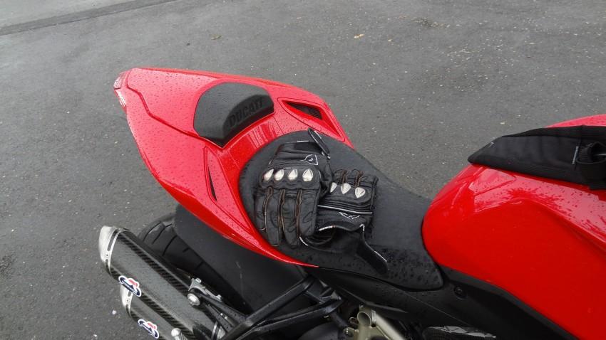 vive la pluie à moto