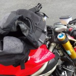 pluie à moto