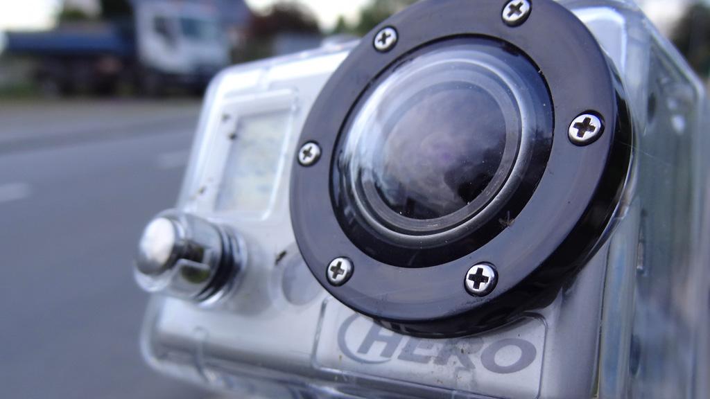 Caméra GoPro, idéale pour la moto
