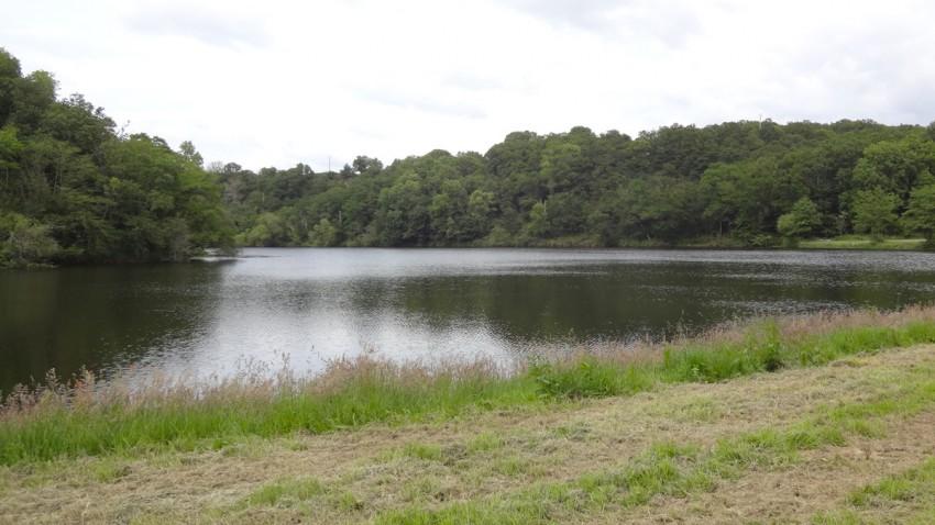 lac en Bretagne, du côté de Rennes