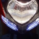 optique avant du Streetfighter 1098 S