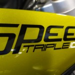 Moto Triumph Rennes Speed Triple 2012