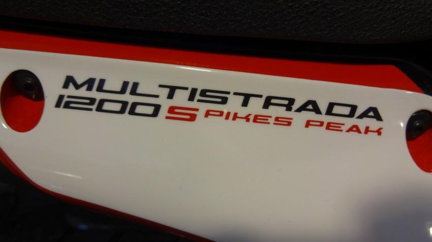 Multistrada Pikes Peak Ducati Rennes
