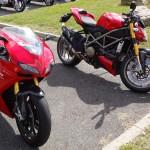 Sportive Ducati à Rennes
