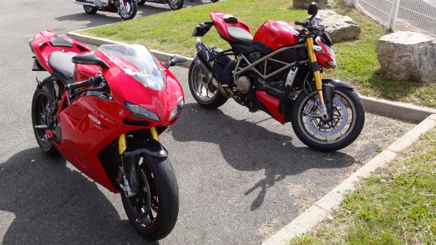 Nouveau garage ducati rennes entretenir sa moto dans le 35 for Deplacer sa moto dans un garage