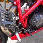 Pièce carbone Ducati 1198SP Rennes