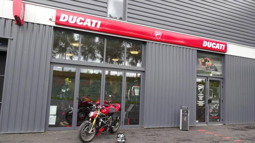 David Jazt chez Ducati Rennes