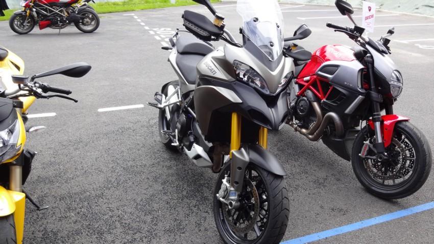 Essai moto Rennes Ducati