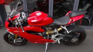Ducati Panigale 1199 S au Ducati Store de Rennes