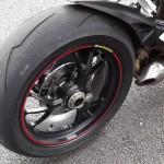 Jante arrière monobras du Ducati 1199 S Panigale
