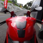 Guidon du 1199 S Panigale Rennes
