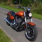 Judge, moto de chez Victory à Rennes