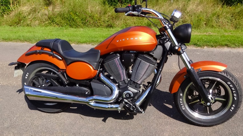 Victory Judge : moto américaine