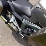 protection des jambes sur la BMW K 13 GT