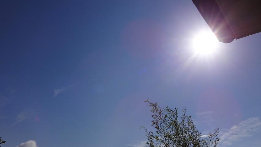 Superbe temps du 29 juillet à Rennes : 10h